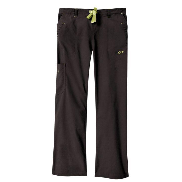 IguanaMed Women's Carbon Black Legend Cargo Scrubs Pant (M), Size Medium
