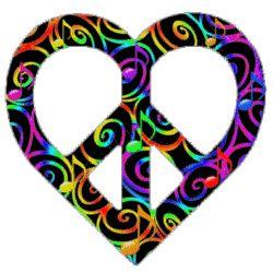 peace love swirls