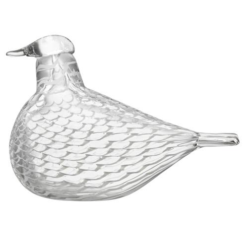 iittala Toikka Mediator Dove Glass Bird £179 Free Shipping