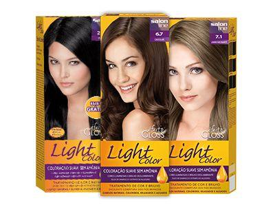 Coloração Suave sem Amônia: Light Color. #salonline #produtos #coloracao #amonia #suave #cor #tendencia