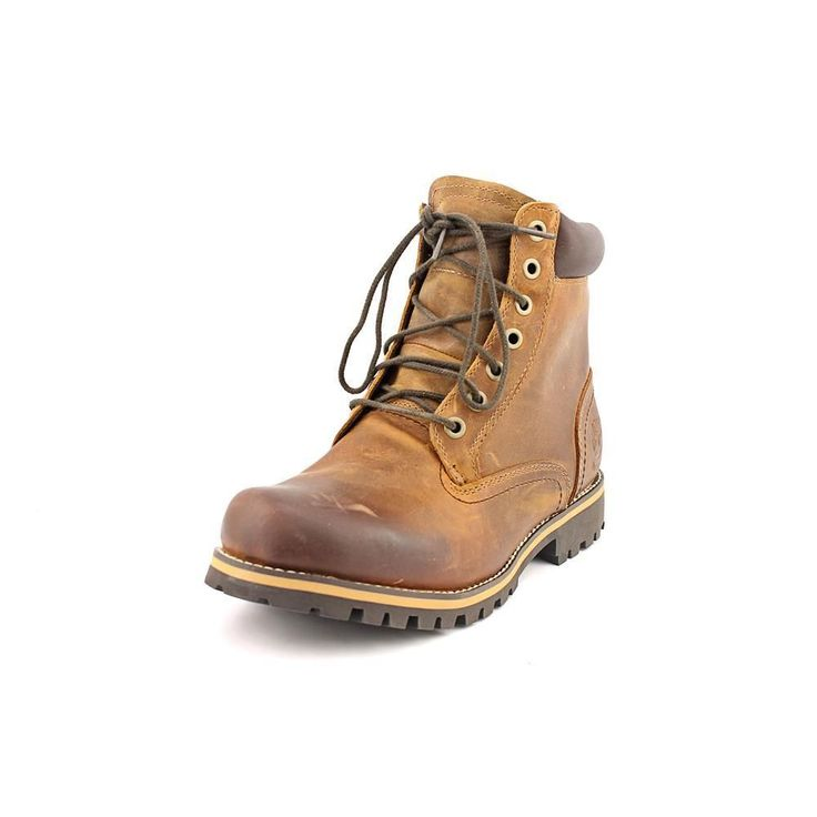 Timberland Earthkeepers Rugged 6-Inch Waterproof Plain Toe Boot Mens New/Display #TimberlandEarthkeepers #HikingTrail