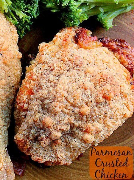 Parmesan Crusted Chicken I Loved The Parmesan Flavor And