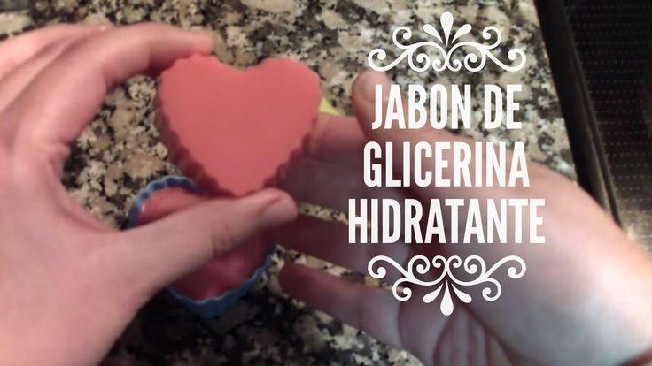 Cómo hacer jabón de glicerina hidratante