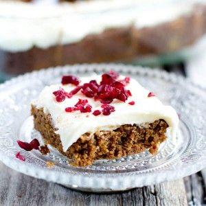 Table sucrée de Noël : Brownies de Véro au pain d'épices | Véronique Cloutier