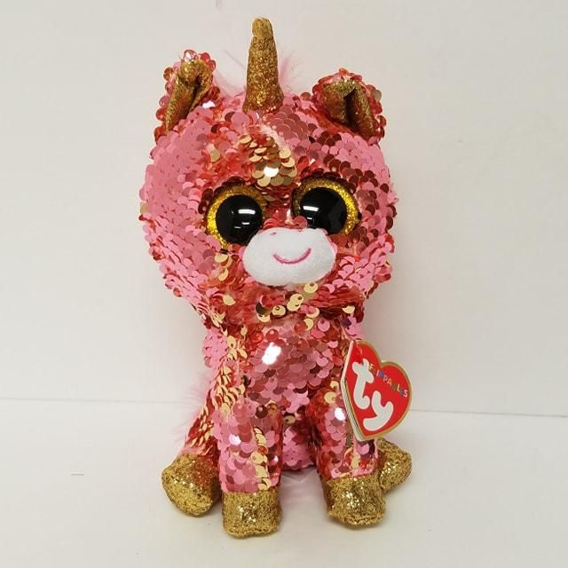 Stuffed Squirrel Animals, Sunset Ty Flippables Unicorn Ty Beanie Boos Collection New Beanie Boos Ty Toys