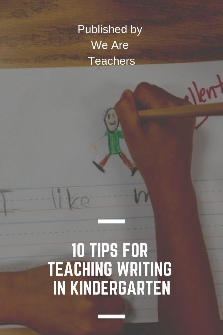Teaching Writing Strategies Kindergarten