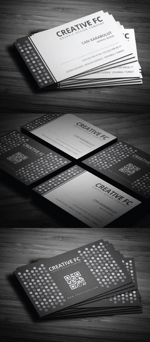 Blank & White Business Card #businesscards #businesscardsdesign #businesscardstemplates #visitingcards #graphicdesign