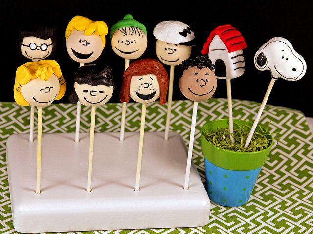 Peanuts Cake Pops