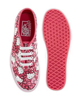 Vans Hello Kitty Authentic Print Trainers
