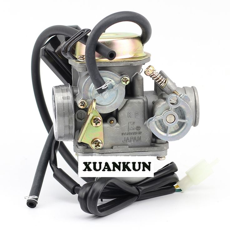 46.55$  Buy here - http://aliqg3.shopchina.info/1/go.php?t=32810614224 - XUANKUN  GY6 Carburetor 125 150 ATV Scooter 24 Caliber Carburetor  #SHOPPING