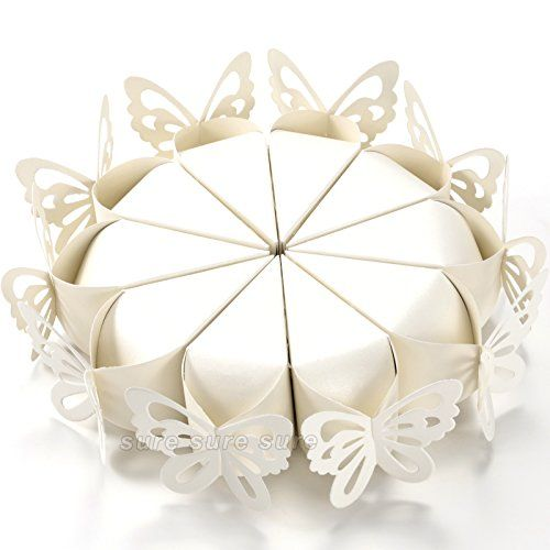 100x coni portariso FARFALLE PERLATO petali portaconfetti bomboniere matrimonio C.X.Y. http://www.amazon.it/dp/B00O3P9YHS/ref=cm_sw_r_pi_dp_.kV9ub1Y47FRM