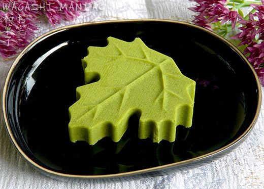 Matcha Chocolate Leaf