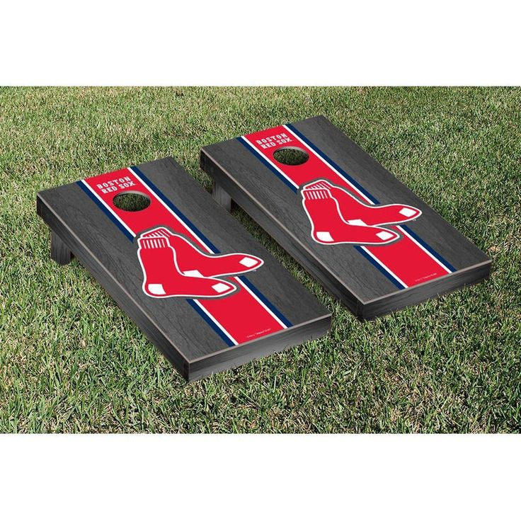Boston Red Sox Onyx Cornhole Game in 2019 Cornhole game