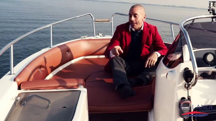 AS MARINE 590 OPEN Barca Usata Lago di Garda [ prova in acqua ]