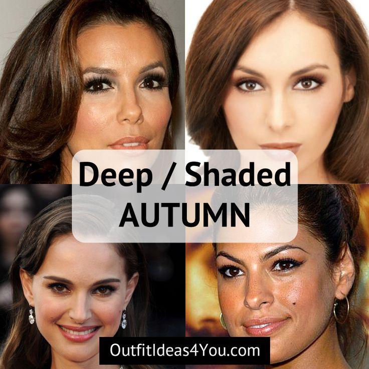 Deep Autumn / Shaded Autumn | Deep autumn, Autumn color ...
