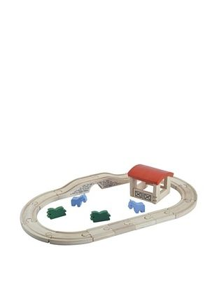 17% OFF Plan Toys Plancity Country Track And Accessories Set