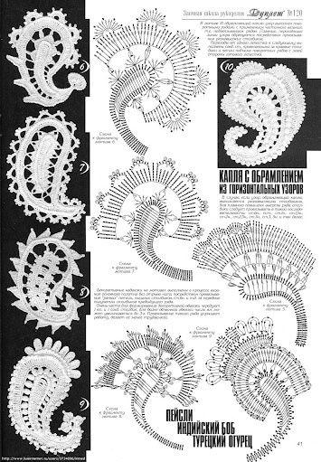 Crochet excepcional: ganchillo irlandés.  El 1001-noche de estilo :)