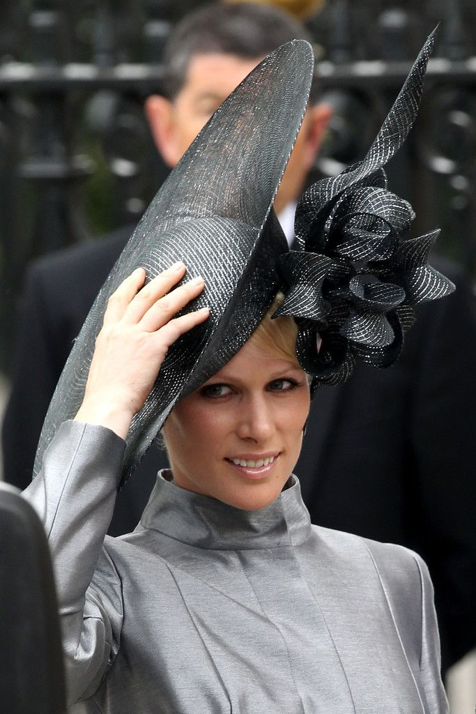 Zara Phillips - Royal Wedding Arrivals
