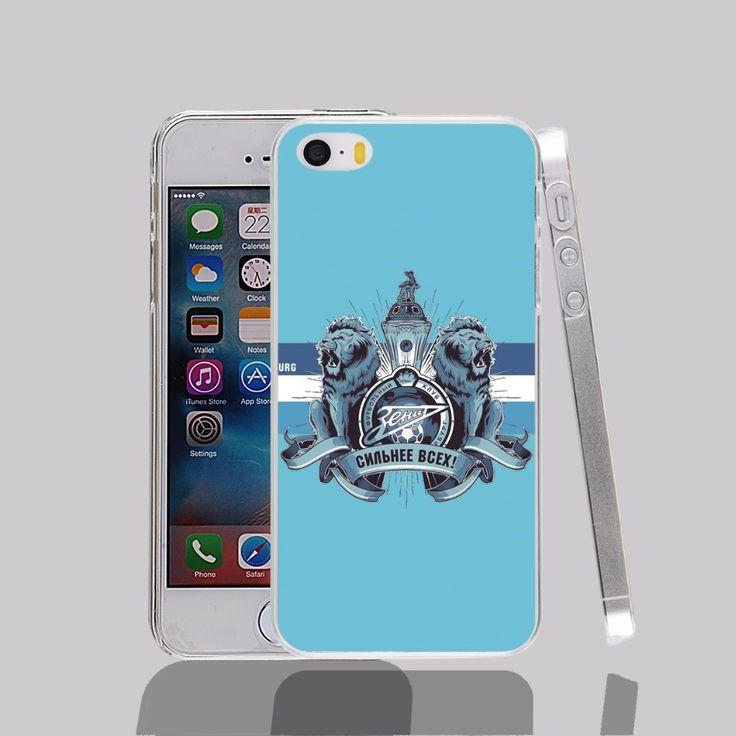 14497 Zenit Saint Petersburg transparent Cover cell phone Case for iPhone 4 4S 5 5S 5C 6 6S Plus 6SPlus