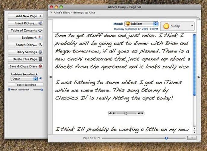 Мой личный дневник diary скачать на компьютер