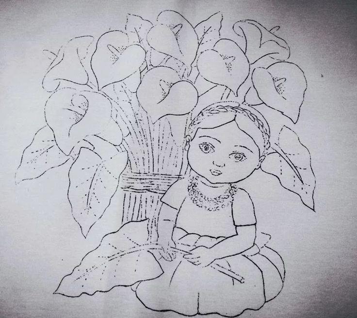 Mejores 28 im genes de dibujos para colorear en pinterest - Plantillas para pintar cuadros ...