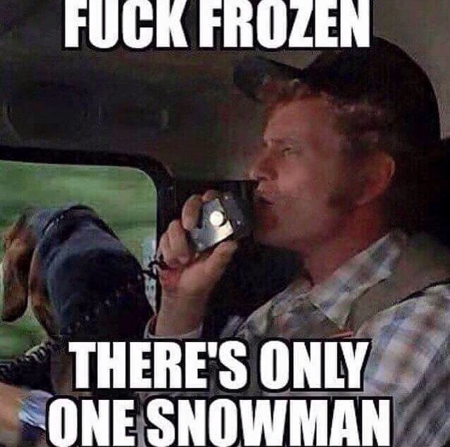 The one and only Snowman Come on Jerry Reed