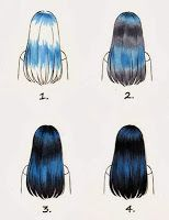 Copic Germany Blog: colorize Black hair