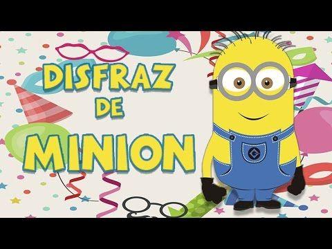 Descubre cómo hacer un disfraz de Minion con este vídeo de disfraces de Carnaval. Los niños podrán hacer su propio disfraz de Minion casero para Carnaval.