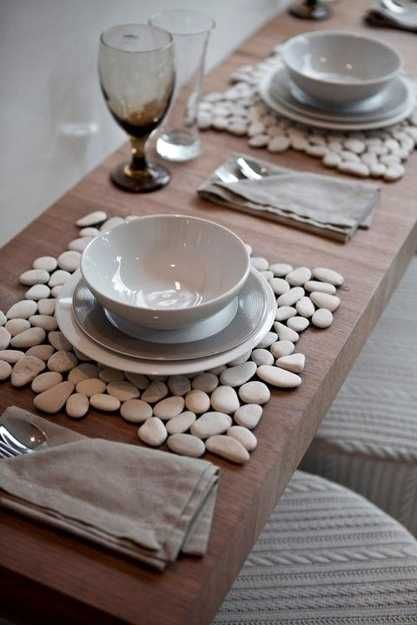 Creative Craft Ideas, Making Home Decorations with Beach Pebbles