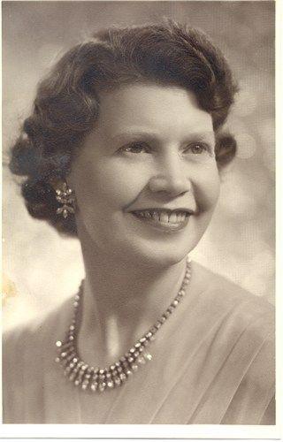 Mary Nicole Allen Milne (nee Paterson)