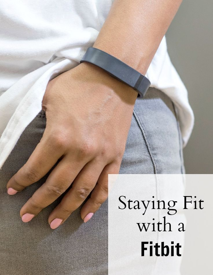 Staying Fit with a Fitbit