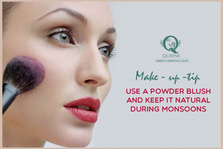 Dusty pinks and peaches look great. Do not use shimmer in the monsoon. #QueensEmporium #Makeuptip