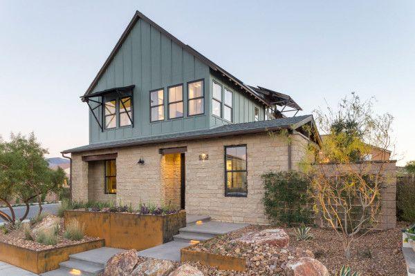 Best 25 Contemporary Farmhouse Exterior Ideas On