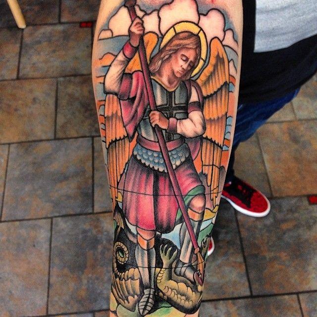 17 best ideas about saint michael tattoo on pinterest