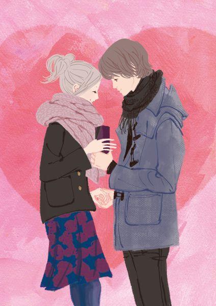 ミヤモトヨシコのガールズイラスト