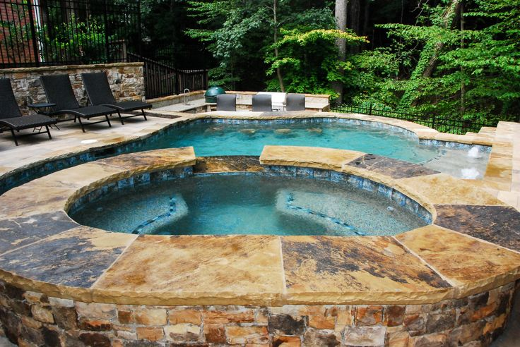 23 best spas hot tubs images on pinterest bubble baths for Spa builders