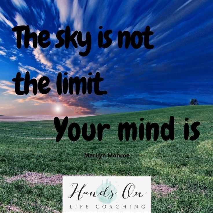 Are you limiting yourself? #handsonlifecoaching