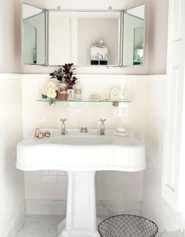 Small Bathrooms House Beautiful 319 best * bathrooms images on pinterest | room, bathroom ideas