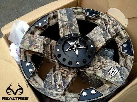 Realtree camo rims