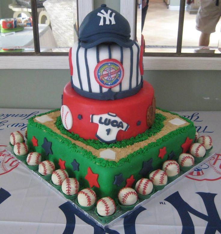 Lil Slugger Baseball Cake