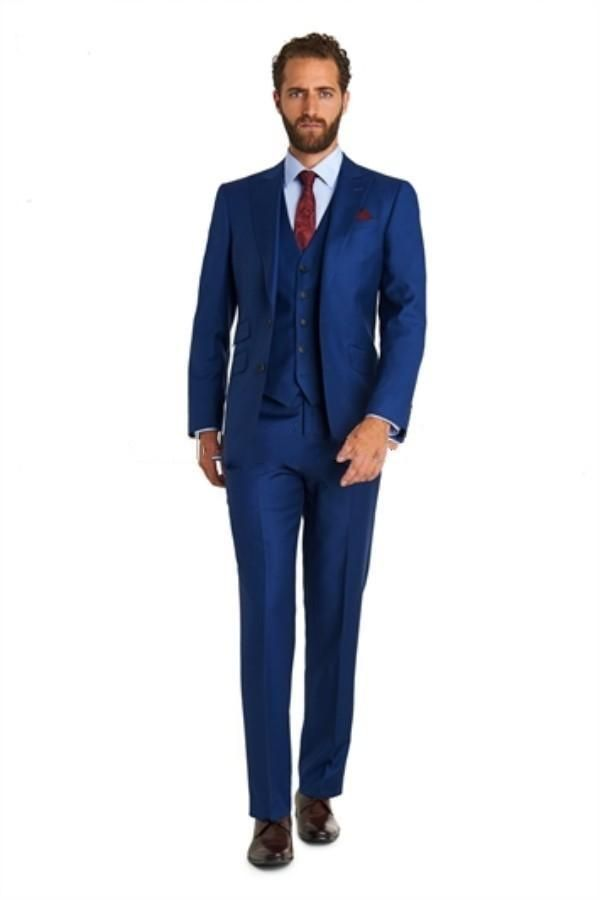 2015 Cheap Groom Tuxedos China Wedding Suits For Men Dark ...