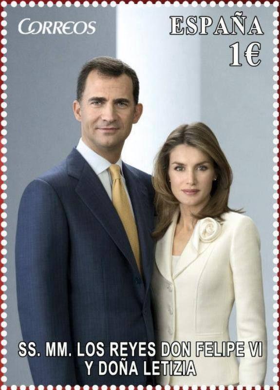 Felipe VI y Letizia - 2014