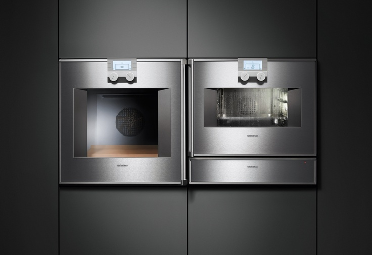 Gaggenau Wall Oven And Steam Oven Appliances Kitchen
