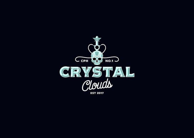 Crytal clouds hookah logo
