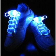 LED-kengännauhat, sininen