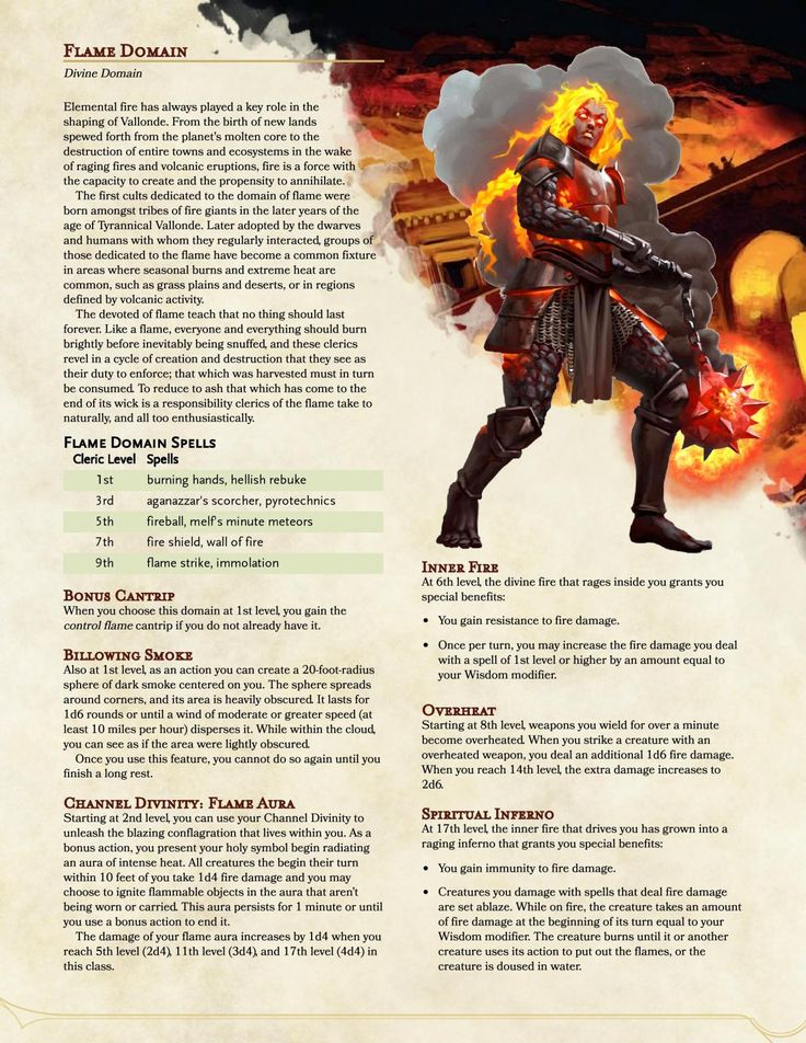 While This May Seem A Little Redundant Given The Fact That We Ve Already Got Both A Lig In 2021 Cleric Domains Dungeons And Dragons Rules Dungeons And Dragons Homebrew