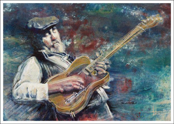 Roy Buchanan by Tom Noll