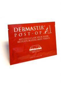 Dermastir Post-op Bio - Cellular Neck Mask Retexturizing Skin Tissue - post op neck mask - made in France. Altacare.com