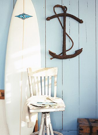 HOME DECOR – COASTAL STYLE – great nautical appeal with superb coastal objects and colors.