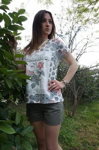 La Bella Donna - Μπλούζα Flowers